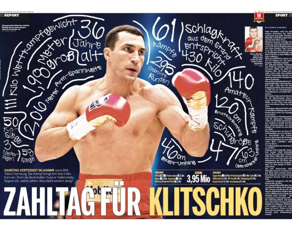 numbers day for Klitschko