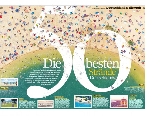 The 50 best beaches in Germany