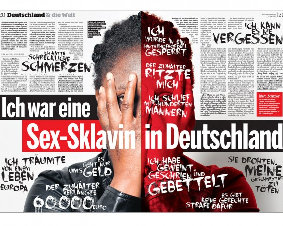 I was a sex-slave in Germany